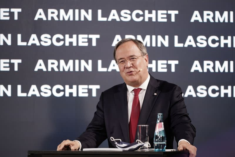 FILE PHOTO: andidate for the future leadership of Germany's Christian Democratic Union (CDU) Armin Laschet