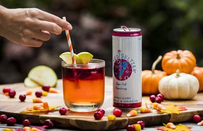 "Perfect for sipping during Halloween celebrations, SpikedSeltzer introduces ""Mermaid on the Rocks"" – a specially created cocktail featuring SpikedSeltzer Cape Cod Cranberry."
