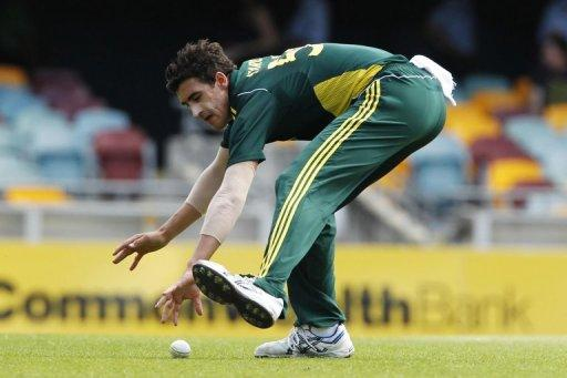 The 22-year-old was drafted in after fast bowler Brett Lee and seam bowling all-rounder Shane Watson were injured