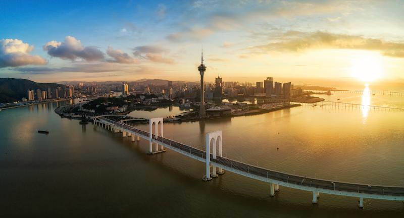Macau skyline. (Photo: Getty Images)