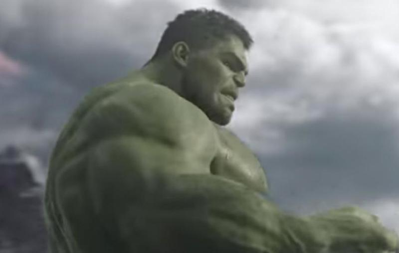 The magician was the muscly body double for The Hulk. Source: Marvel Pictures