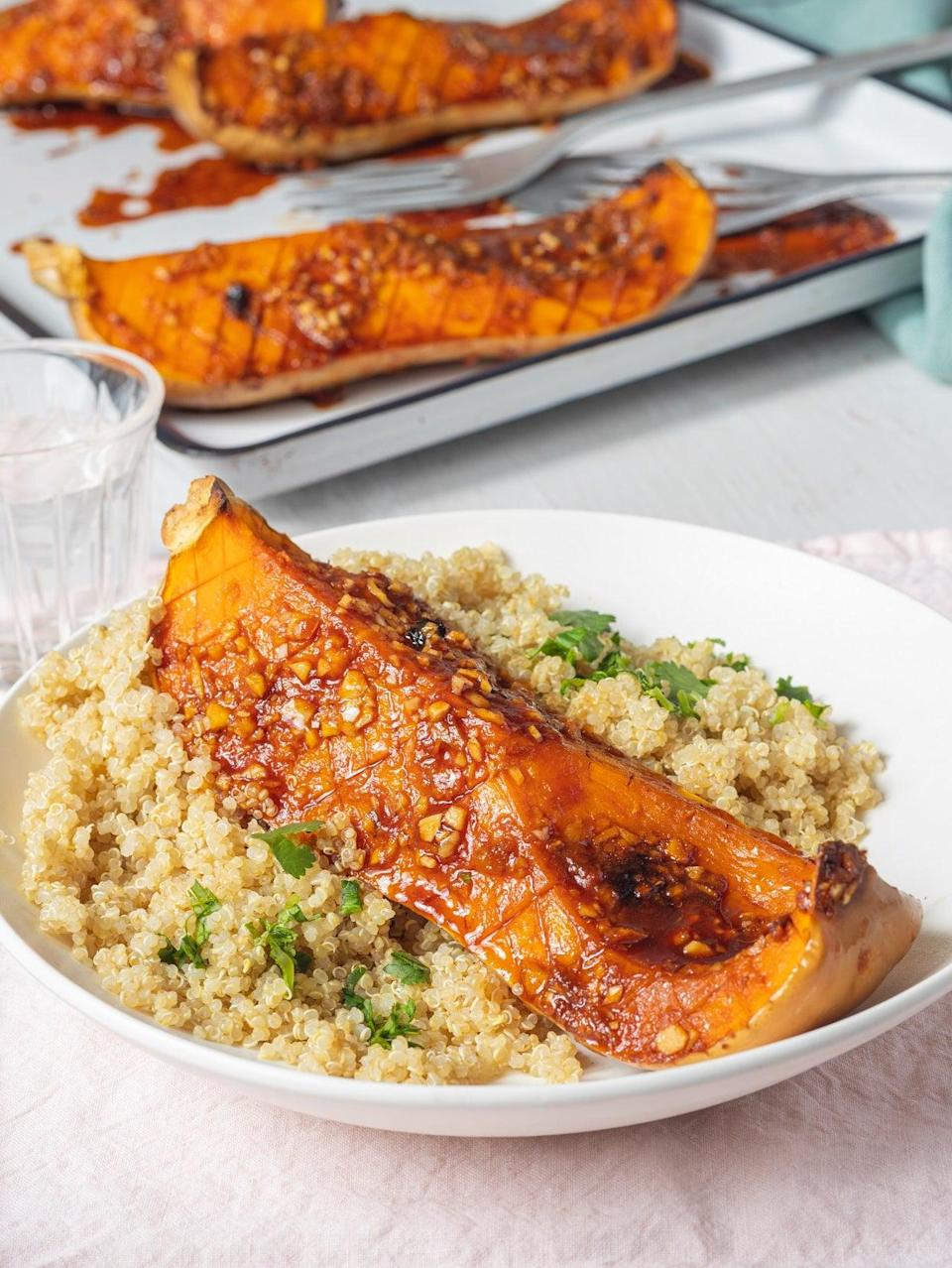 This butternut squash and quinoa dish makes for a perfect healthy dinner (Lee Kum Kee - Jeremy Pang)