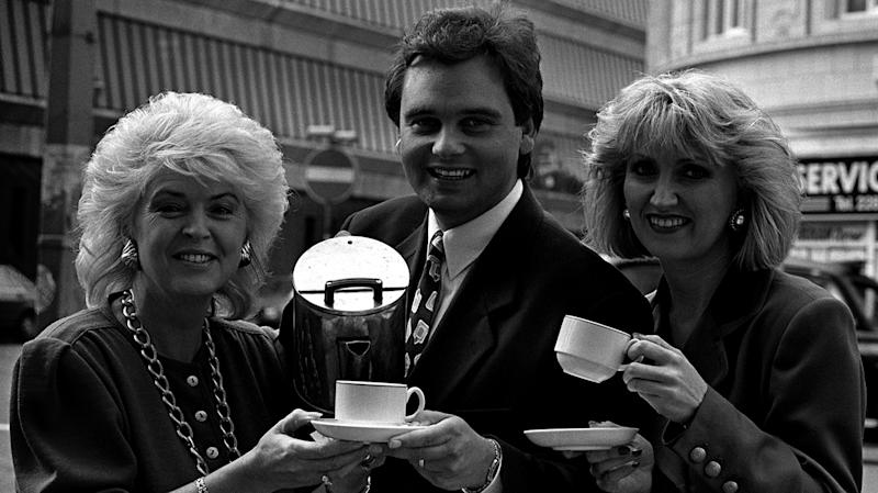 Gloria Hunniford mentored the young Eamonn Holmes when he started his career at Ulster TV