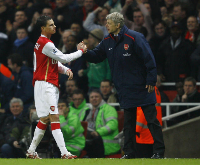 The former Arsenal striker recently returned to the Emirates to meet his old boss after years playing in France