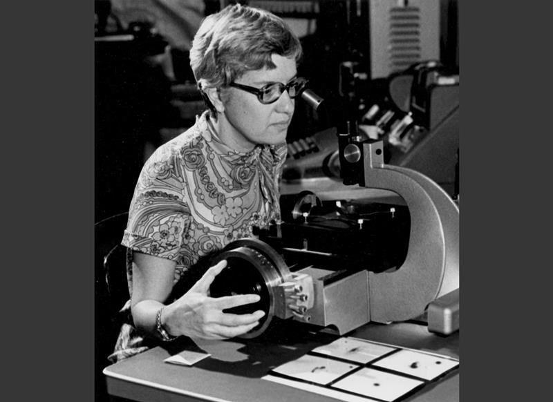 <p>Pioneering astronomer Vera Rubin, who helped find powerful evidence of dark matter, died on Dec. 25, 2016 at age 88 from dementia. Photo from The Canadian Press </p>