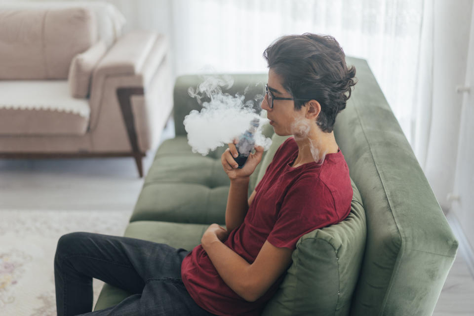 "A new report from the Food and Drug Administration is sharing 127 cases of ""seizures and other neurological symptoms"" related to vaping. (Photo: Getty Images)"