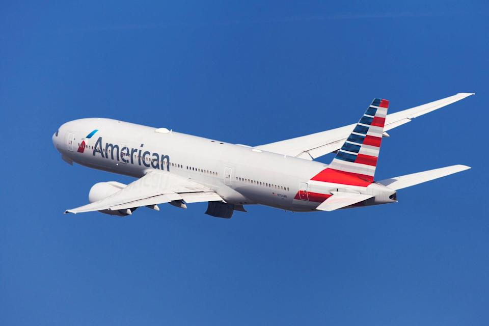 <p>Crew on an American Airlines flight reported seeing a 'cylindrical object' flying overhead</p> (Getty Images)