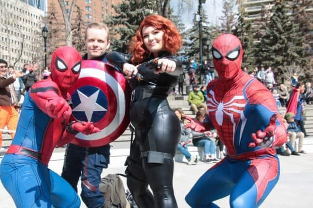 File Photo: Last year, the Calgary Expo was cancelled. This year its back in a more 'exclusive' and Covid-friendly experience. (Calgary Comics & Entertainment Expo - image credit)
