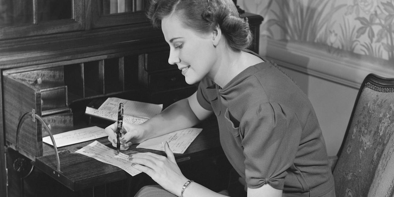 """<p>Long before Hallmark and the mass-produced greeting card industry existed, lovers, friends, and family members used to send one another Valentines that were customized with personal messages. Handwritten holiday cards were the norm until 1847, according to <a rel=""""nofollow"""" href=""""http://www.huffingtonpost.com/mitch-ditkoff/the-history-and-present-of-valentines-day_b_6642020.html""""><em>The Huffington Post</em></a>. Though pre-written cards are more convenient, there's nothing quite like a <a rel=""""nofollow"""" href=""""http://www.countryliving.com/life/inspirational-stories/g4061/famous-love-letters/"""">one-of-a-kind love letter from your sweetheart</a>.</p>"""
