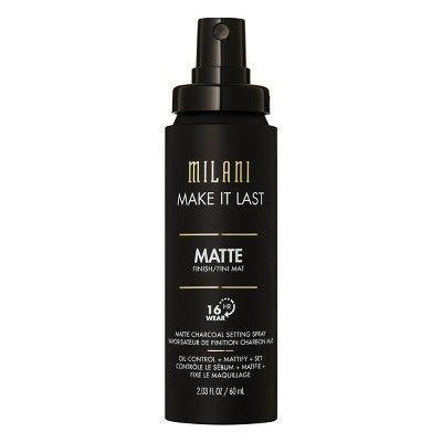 "<h3>Milani Make It Last Matte Primer</h3><p>You can <a href=""https://www.refinery29.com/en-gb/do-blotting-papers-work"" rel=""nofollow noopener"" target=""_blank"" data-ylk=""slk:break up with blotting papers"" class=""link rapid-noclick-resp"">break up with blotting papers</a> with this under-£10 setting spray that works by absorbing oil with charcoal powder — and delivers for 16 hours, at that.</p><br><br><strong>Milani Cosmetics</strong> Milani Make it Last Matte Charcoal Setting Spray , $7.35, available at <a href=""https://www.ebay.co.uk/i/153426167315?chn=ps&norover=1&mkevt=1&mkrid=710-134428-41853-0&mkcid=2&itemid=153426167315&targetid=539566305309&device=c&adtype=pla&googleloc=9045999&poi=&campaignid=1669190342&adgroupid=67214011600&rlsatarget=pla-539566305309&abcId=578896&merchantid=110687565&gclid=EAIaIQobChMI-d_8kY2v4wIV2oXVCh2RnQsXEAQYBCABEgKWvfD_BwE"" rel=""nofollow noopener"" target=""_blank"" data-ylk=""slk:eBay"" class=""link rapid-noclick-resp"">eBay</a>"