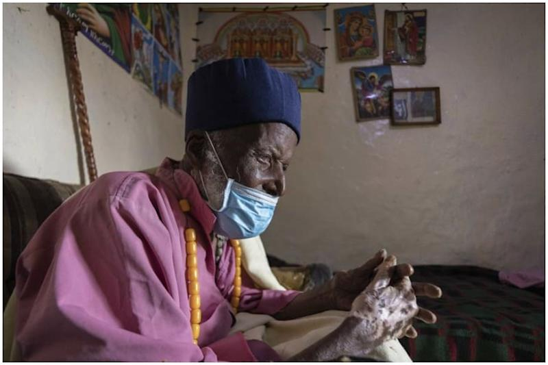 Ethiopian Monk Said to be 114-Years-Old Just Beat Coronavirus after Three Weeks of Treatment