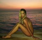"""<p>Rita Ora stripped it all down in this sexy <a href=""""https://www.instagram.com/p/BfD2H6Bn4Sf/?taken-by=ritaora"""" rel=""""nofollow noopener"""" target=""""_blank"""" data-ylk=""""slk:Instagram shoot"""" class=""""link rapid-noclick-resp"""">Instagram shoot</a> by the sunset. Perfectly entitled, """"Sundaze.""""</p>"""