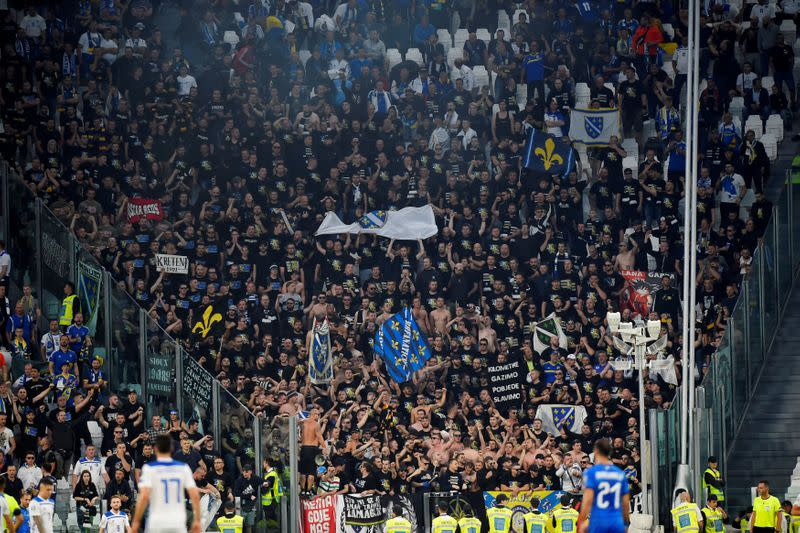 Bosnia to allow up to 2,000 fans at Euro playoffs, Nations League