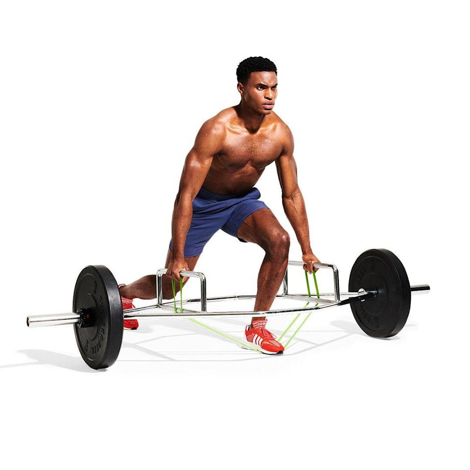 <p>Lower the bar over three seconds, take a breath and reset your form. Stand up for the next rep and repeat. Complete the set, swap legs and go again for a balanced power boost.</p>