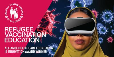 Through the SHIFA-Care Initiative's use of virtual reality education, Somali Family Service, a fiscal sponsor for eight different East African and refugee organizations, has the potential to make a significant impact across San Diego County.