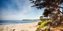 """<p><strong>Best for Sunsets</strong><br></p><p>It makes sense that this postcard-perfect seaside village has one of the best beaches in California. Just off Ocean Avenue, <a href=""""https://go.redirectingat.com?id=74968X1596630&url=https%3A%2F%2Fwww.tripadvisor.com%2FAttraction_Review-g32172-d128002-Reviews-Carmel_City_Beach_Carmel_River_Beach-Carmel_Monterey_County_California.html&sref=https%3A%2F%2Fwww.redbookmag.com%2Flife%2Fg37132327%2Ftop-california-beach-vacations%2F"""" rel=""""nofollow noopener"""" target=""""_blank"""" data-ylk=""""slk:this gorgeous crescent-shaped stretch"""" class=""""link rapid-noclick-resp"""">this gorgeous crescent-shaped stretch</a> is known for its soft, pure white sand and views of the Pebble Beach golf course. </p><p>Dogs are allowed off-leash, there's beach volleyball, and there are even wood-burning firepits where you watch the sun surrender to the stars. </p><p><strong><em>Where to Stay:</em></strong> <a href=""""https://go.redirectingat.com?id=74968X1596630&url=https%3A%2F%2Fwww.tripadvisor.com%2FHotel_Review-g32172-d124647-Reviews-L_Auberge_Carmel-Carmel_Monterey_County_California.html&sref=https%3A%2F%2Fwww.redbookmag.com%2Flife%2Fg37132327%2Ftop-california-beach-vacations%2F"""" rel=""""nofollow noopener"""" target=""""_blank"""" data-ylk=""""slk:L'Auberge Carmel"""" class=""""link rapid-noclick-resp"""">L'Auberge Carmel</a>, <a href=""""https://go.redirectingat.com?id=74968X1596630&url=https%3A%2F%2Fwww.tripadvisor.com%2FHotel_Review-g32172-d9854044-Reviews-Hotel_Carmel-Carmel_Monterey_County_California.html&sref=https%3A%2F%2Fwww.redbookmag.com%2Flife%2Fg37132327%2Ftop-california-beach-vacations%2F"""" rel=""""nofollow noopener"""" target=""""_blank"""" data-ylk=""""slk:Hotel Carmel"""" class=""""link rapid-noclick-resp"""">Hotel Carmel</a></p>"""