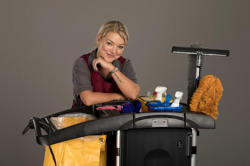 Actress Sheridan Smith played a struggling mother with a gambling habit in the ITV drama 'Cleaning Up' (Sister Pictures)