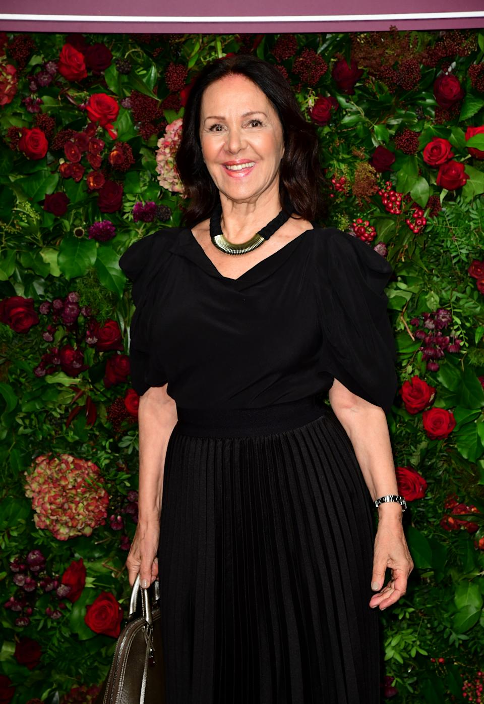 Arlene Phillips attending the 65th Evening Standard Theatre Awards at the London Coliseum, London. (Photo by Ian West/PA Images via Getty Images)