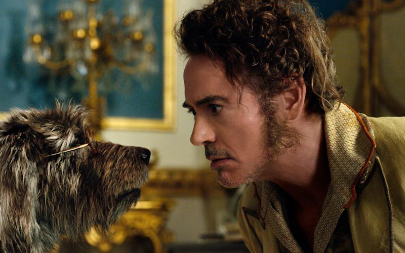 Robert Downey Jnr as Dr John Dolittle in what is proving a box-office bomb - Universal Pictures
