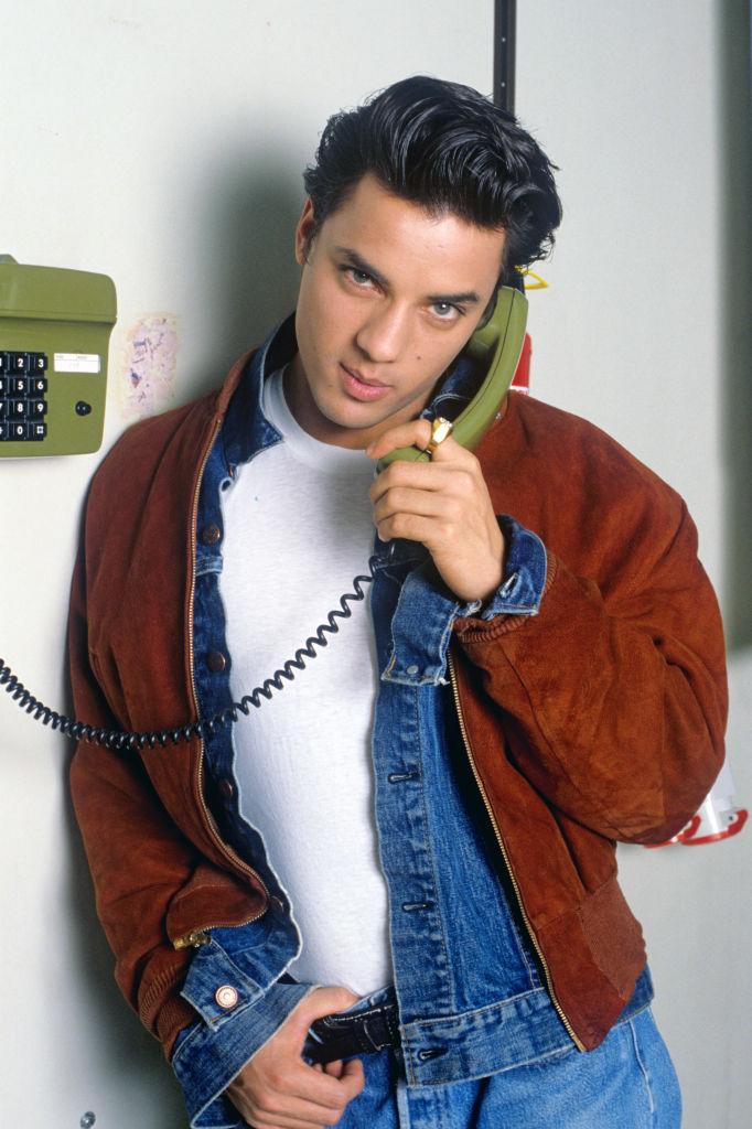 Nick Kamen was the ultimate 80s heartthrob, pictured in 1986. (Getty)