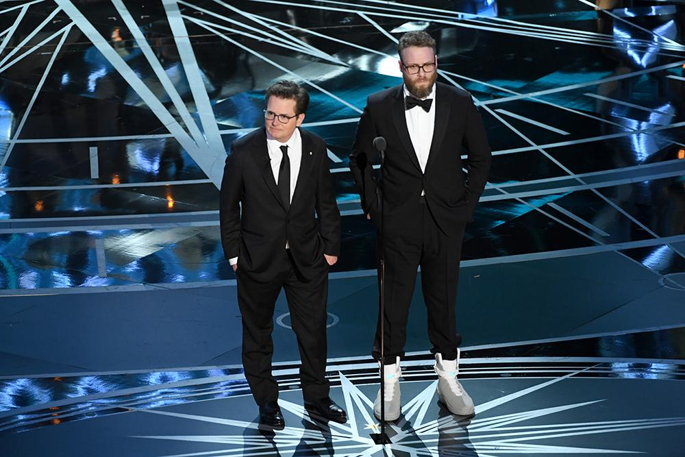 Seth Rogen's Oscars Sneakers Are $11,000 on eBay, and