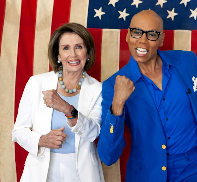 """Nancy Pelosi will be a guest judge on """"RuPaul's Drag Race."""""""