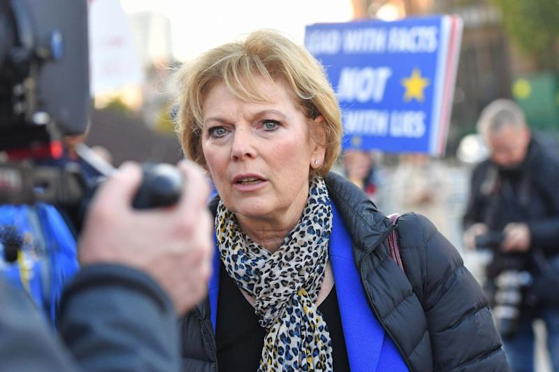 Anna Soubry finished third in Broxtowe (Jacob King/PA)