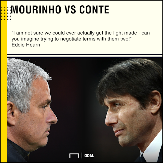 The feuding Manchester United and Chelsea managers have engaged in a war of words, but what if they laced up a pair of gloves and traded punches?