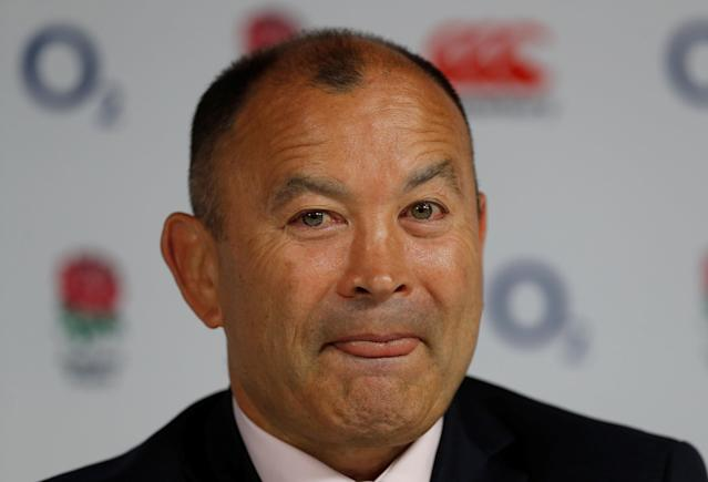 Rugby Union - England - Eddie Jones names South Africa squad - Twickenham Stadium, London, Britain - May 10, 2018 England head coach Eddie Jones during the press conference Action Images via Reuters/Paul Childs