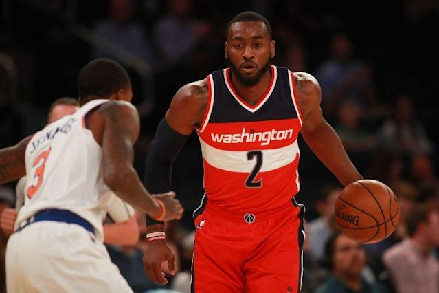 John Wall makes the Wizards go. (Getty Images)