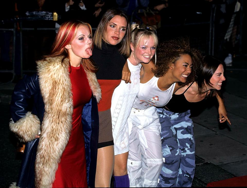 The Spice Girls dominated the charts all over the world during the 1990s. (Fred Duval/FilmMagic)