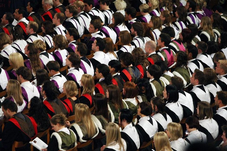 Universities in England can charge up to £9,250 per year for an undergraduate degree (PA) (PA Archive)