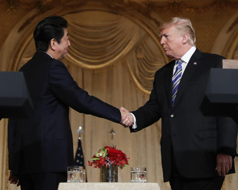 Trade issues expose the limits of Trump-Abe 'bromance'