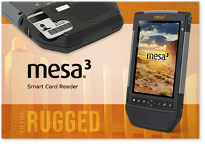 Juniper Systems Limited announces its new Mesa® 3 Smart Card Reader, providing the ultimate two-tier authentication solution for rugged industries. 25 February 2021
