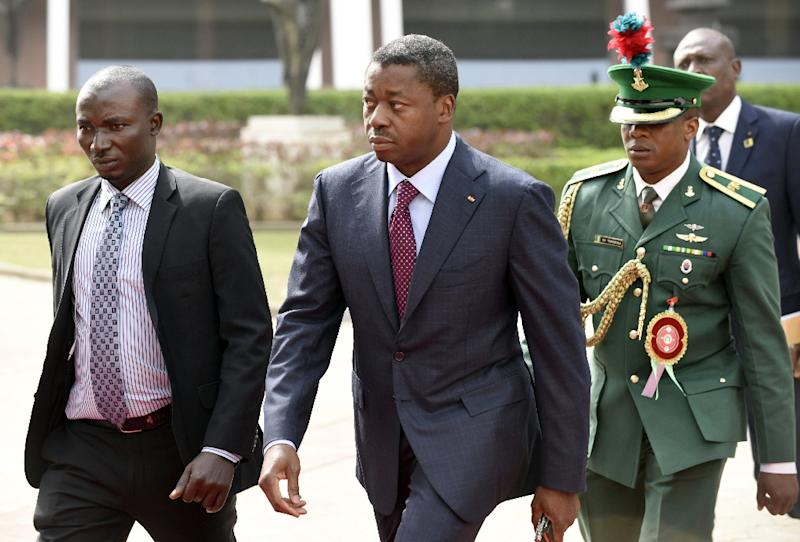 Image result for President Faure Gnassingbe