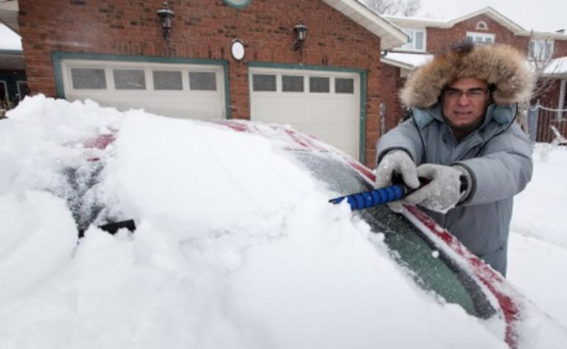 Atlantic: Lingering snow, strong gusts for Newfoundland