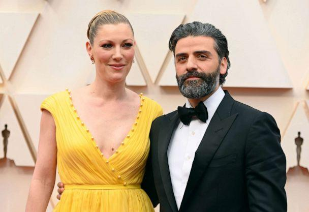 PHOTO: Oscar Isaac and his wife Elvira Lind attend the 92nd annual Academy Awards, Feb. 9, 2020, in Hollywood, Calif. (Robyn Beck/AFP via Getty Images)