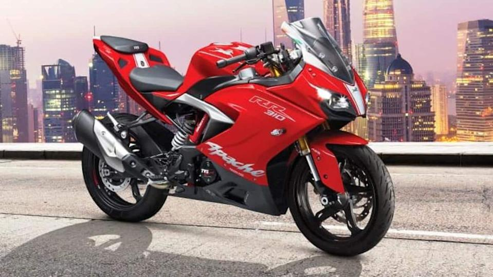 TVS Apache RR 310 becomes costlier by Rs. 2,000