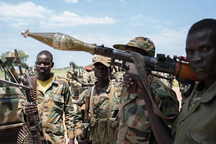 South Sudan descended into violence more than three years ago after a power struggle between Machar and President Salva Kiir (AFP Photo/Charles Atiki Lomodong)