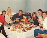 """<p>On 23rd January, Courteney Cox shared this unbelievably emotional photograph of the six cast members having dinner together before filming 'The Last One' - which fans will know is the two-part final episode of Friends ever. </p><p>'I got off the plane': Cue sobs.</p><p>The photo was taken on 23rd January 2004, which is exactly 16 years ago to the day that it was shared by the actor.</p><p>In the photo, the cast all look particularly close that day, which is understandable given the 10 seasons they'd worked together. Responding to Cox's photo, Lisa Kudrow commented 'Awww' while Jennifer Aniston posted three crying emojis. Us too, Jen. Us too.</p><p><a href=""""https://www.instagram.com/p/B7rm5r3Dqku/"""" rel=""""nofollow noopener"""" target=""""_blank"""" data-ylk=""""slk:See the original post on Instagram"""" class=""""link rapid-noclick-resp"""">See the original post on Instagram</a></p>"""