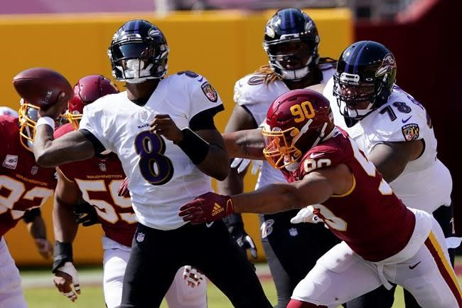 Ravens, Jackson and Brown dig deep to connect on long passes