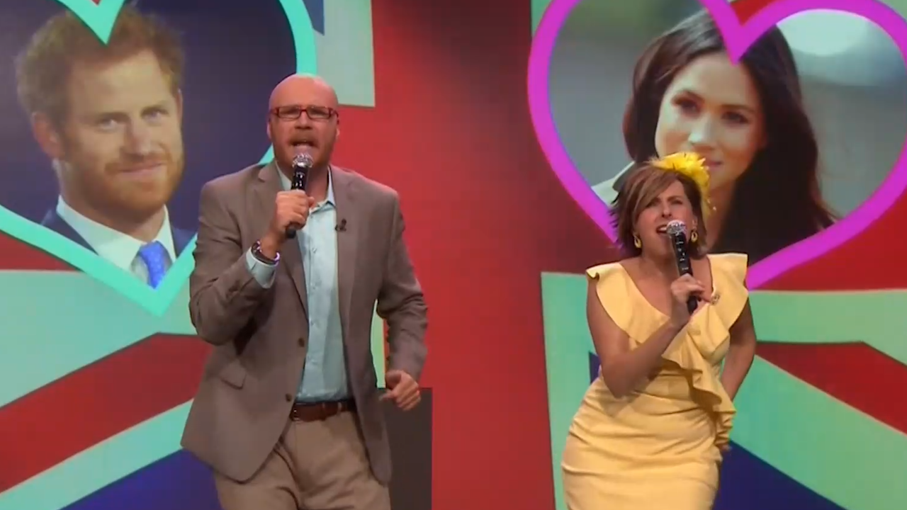 Will Ferrell And Molly Shannon Tease The Royal Wedding Video