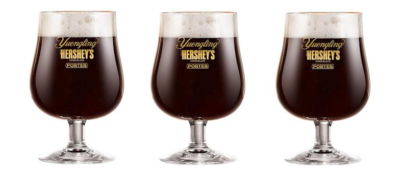 Hershey's teams up with Yuengling to make chocolate beer for the first time