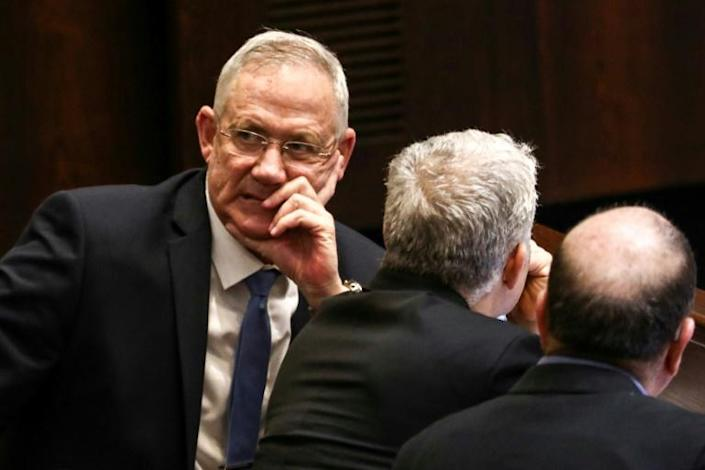 Netanyahu's challenger Benny Gantz must now hope that voters blame the incumbent for the deadlock that has left Israel without a fully functioning government for nearly a year (AFP Photo/Gali TIBBON)