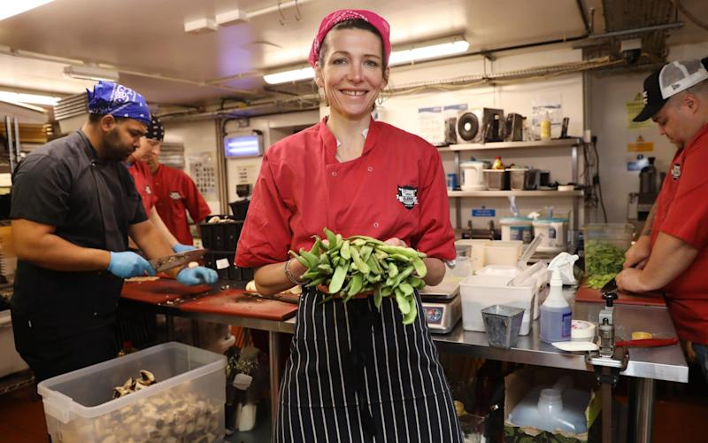 Thomasina Miers has been under fire after Wahaca waiters were told to pay back unpaid bills - Getty Images Europe