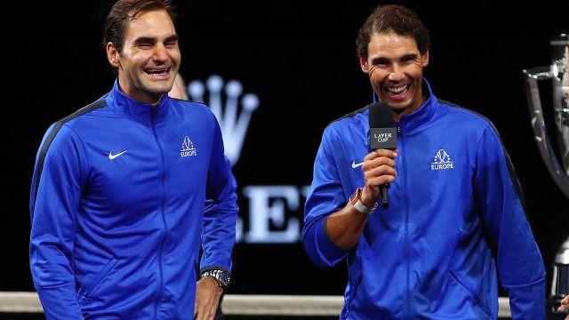 Who doesn't love Federer and Nadal? Image: Getty