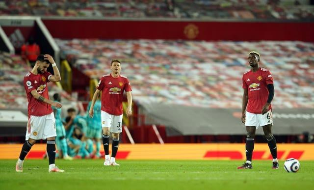 Manchester United have lost their last two home games to Leicester and Liverpool