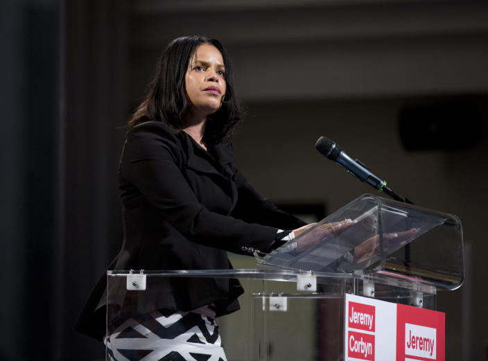 Labour MP Claudia Webbe said conditions in her constituency had created a 'perfect storm'. (PA)