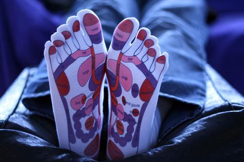 Woman sues over reflexology socks but do they really work according to reflexology practitioners pressing on certain areas of the foot affects corresponding internal organs photo flickrfeel my feet day 16 ccuart Gallery