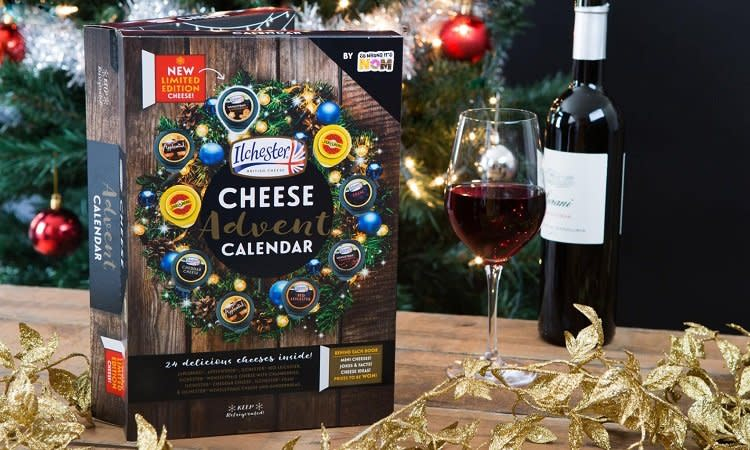 Aldi Cheese Advent Calendar.This Is Not A Drill Wine And Cheese Advent Calendars Are Coming